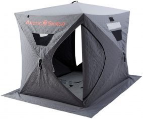 ArcticShield Double Layer Ice Fishing Shelter with Floor