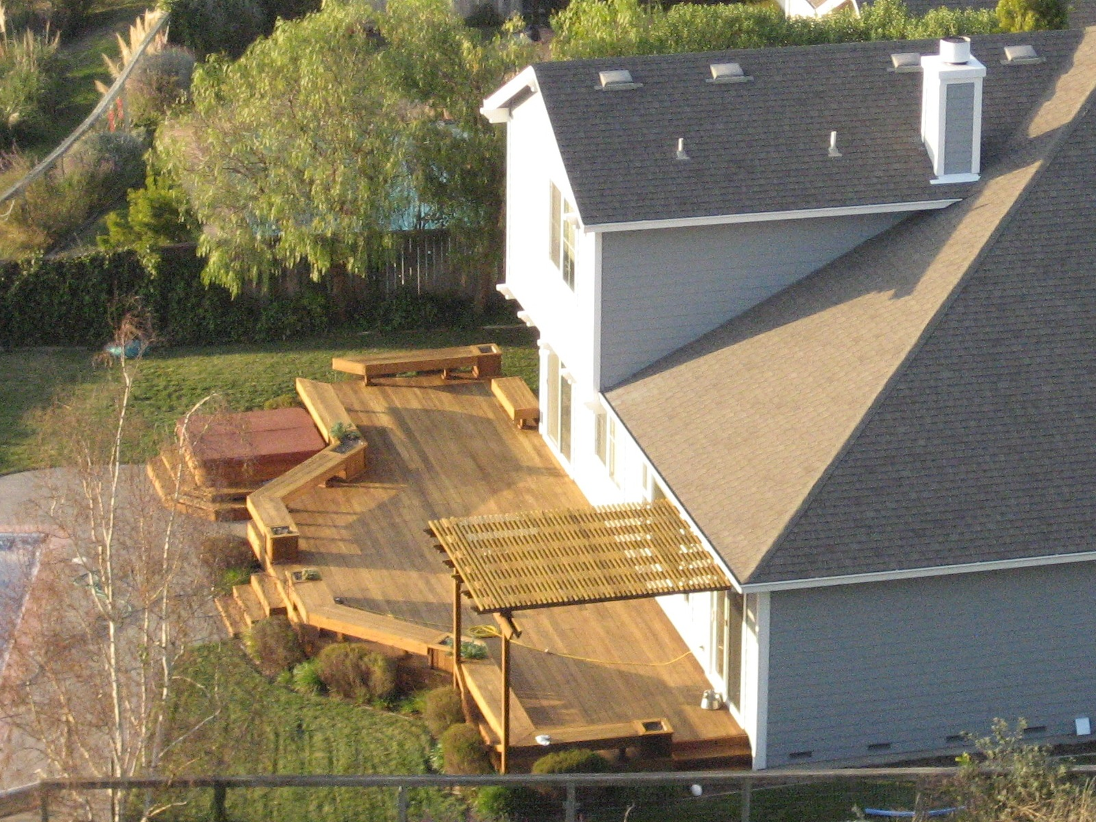 How to build a deck step by step thrifty outdoors for Basic deck building instructions