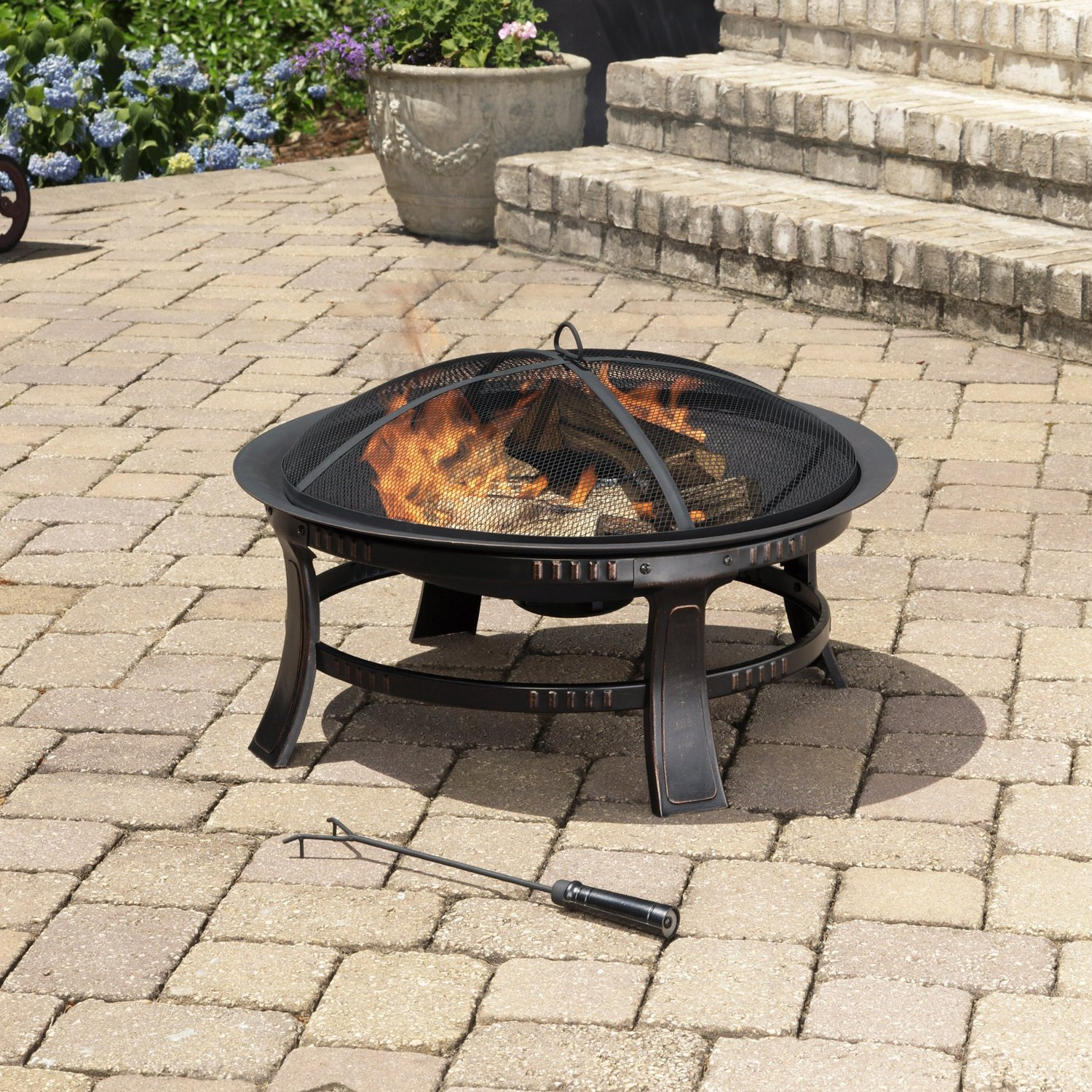 Pleasant Hearth Outdoor Fireplace