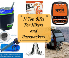 11 Top Gifts for Hikers and Backpackers