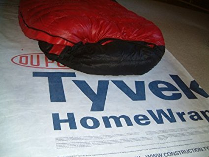 6 X 9 Foot Tyvek Ground Sheet or Tarp with 4 Adhesive Grommet Tabs From Campcovers
