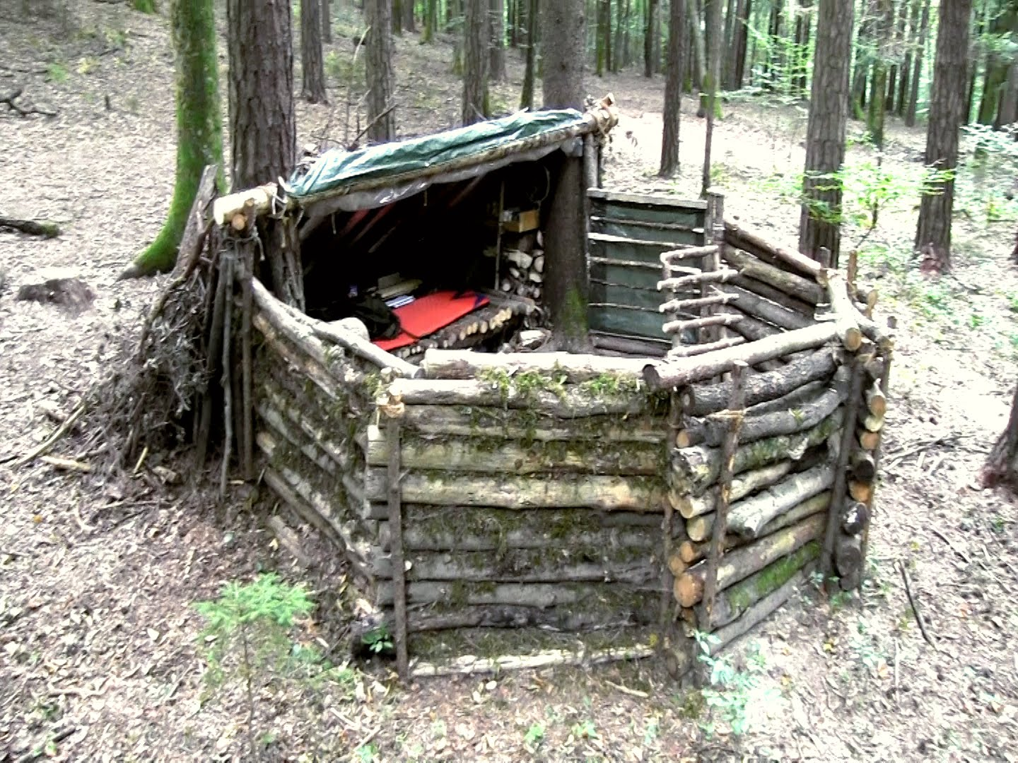 How to Make a Super Survival Shelter