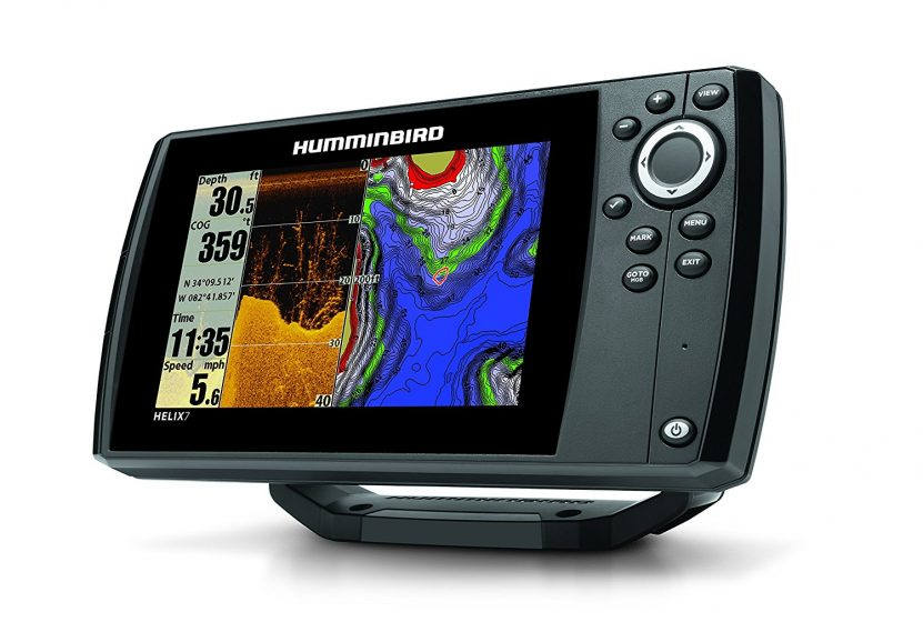 Humminbird 409830-1 Helix 7 DI GPS/Fishfinder with Down Imaging Sonar