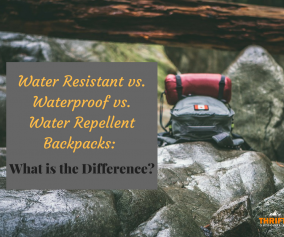 Waterproof vs. Water Repellent