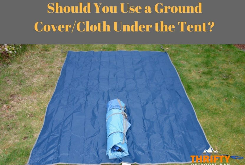 Ground Cover under tent
