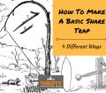 how to make a snare trap