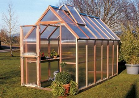 wooden greenhouse kits