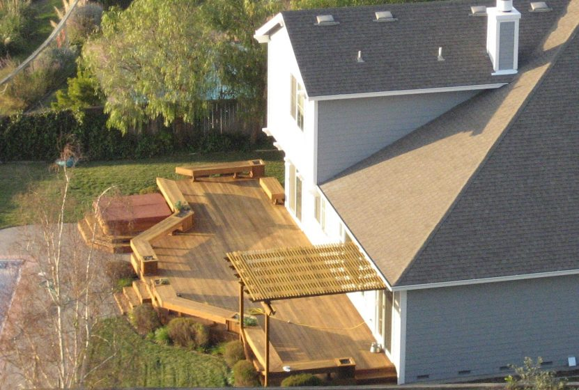 How to build a deck step by step thrifty outdoors Building a deck
