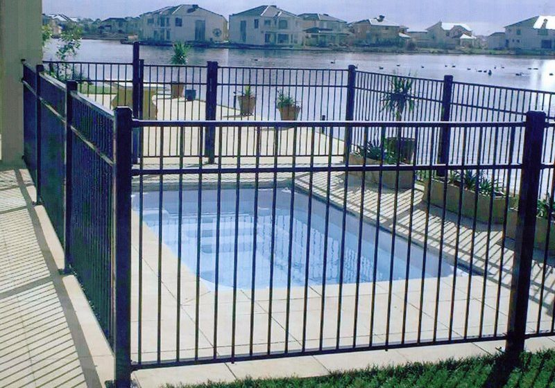 Above Ground Pool Fence pool fences for above ground pools - thrifty outdoors manthrifty