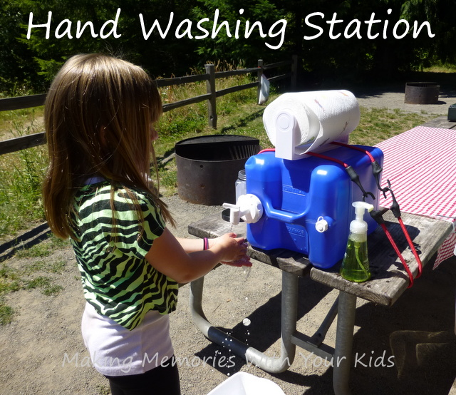 Hand washing station