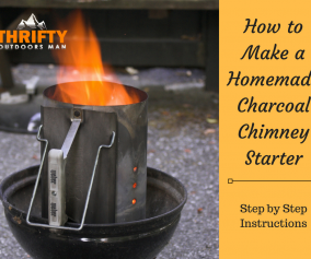 How to Make a Homemade Charcoal Chimney Starter