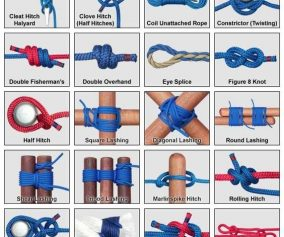 Essential Knots for Camping, Backpacking and Survival
