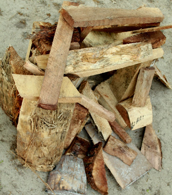 firewood camping game