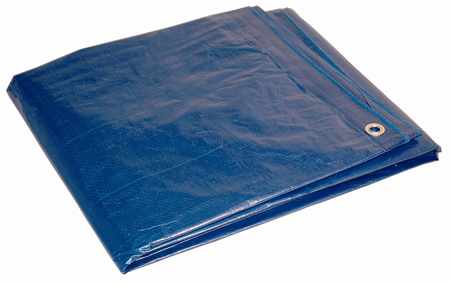 10' x 12' Dry Top Blue Full Size 7-mil Poly Tarp