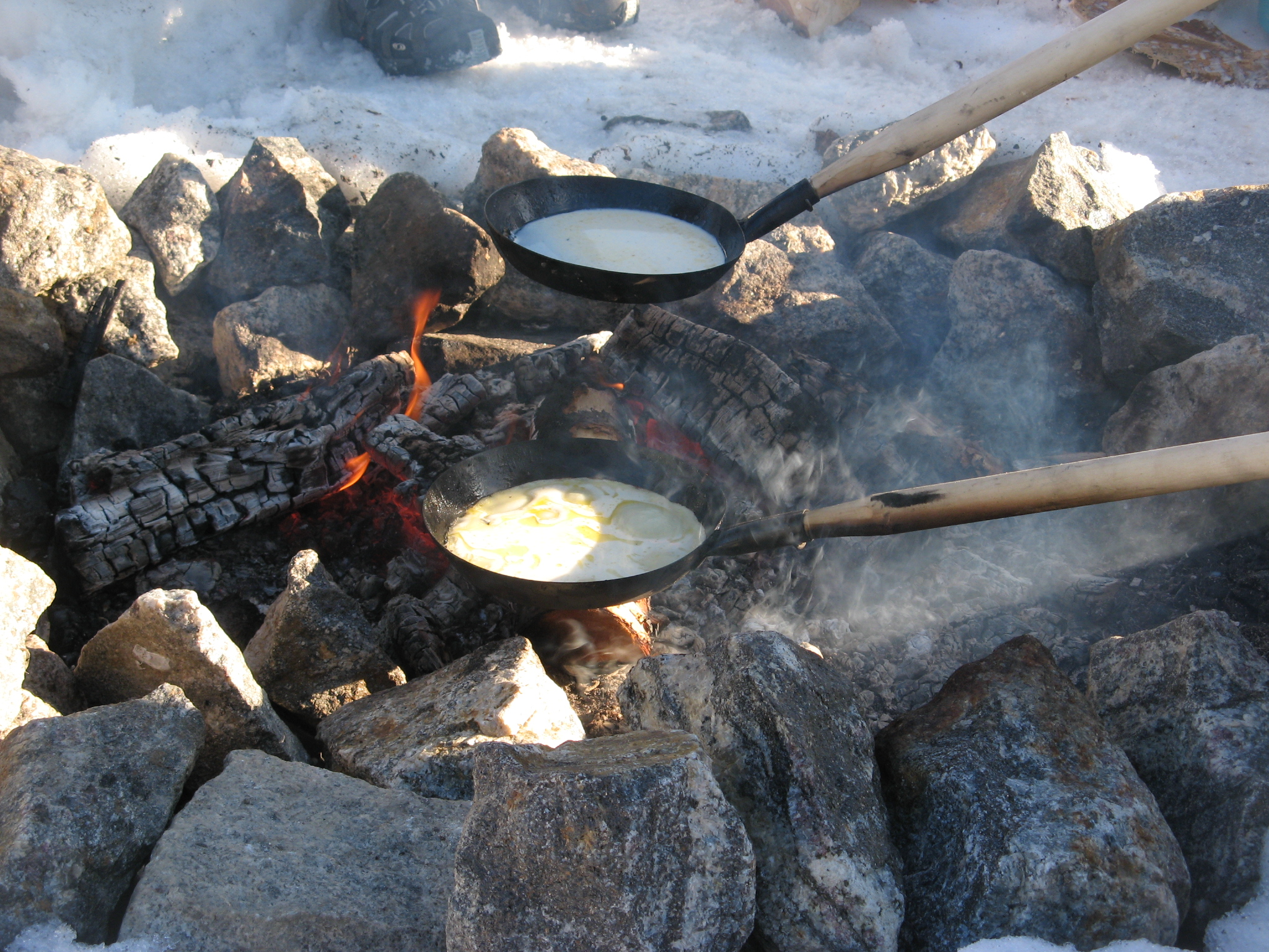 Winter Backpacking food and nutrition