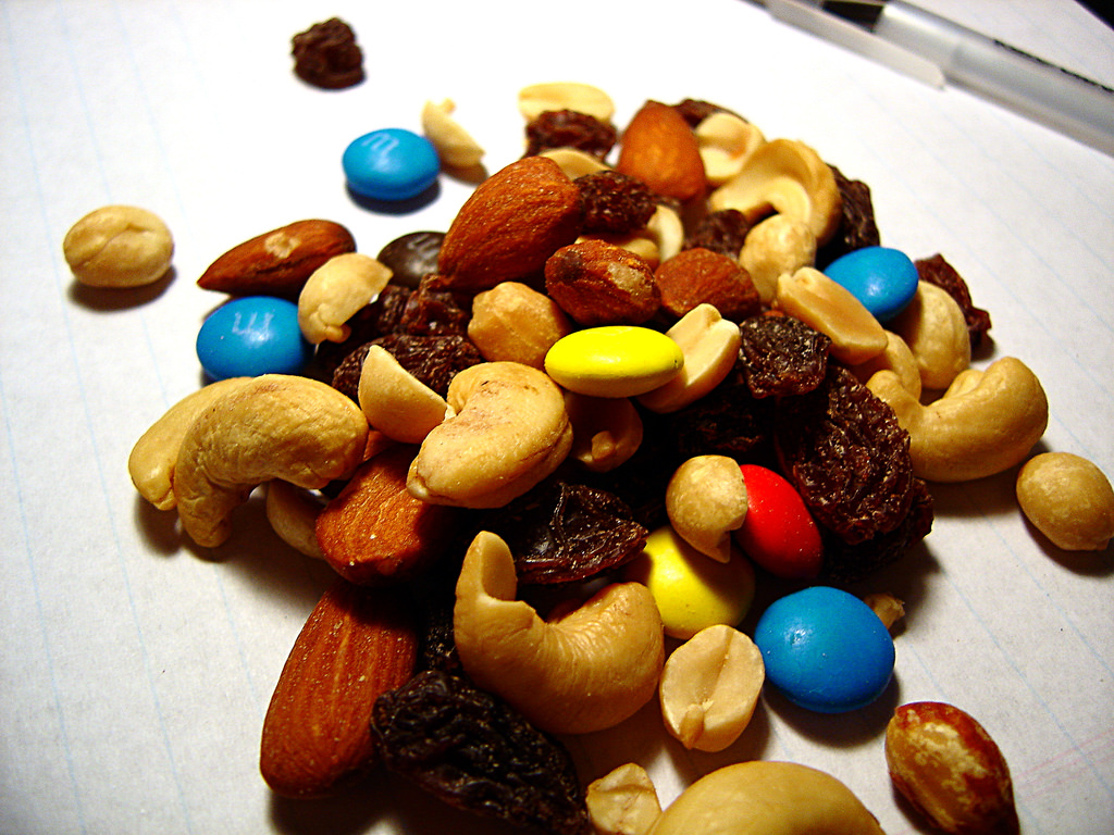 hiking trail mix