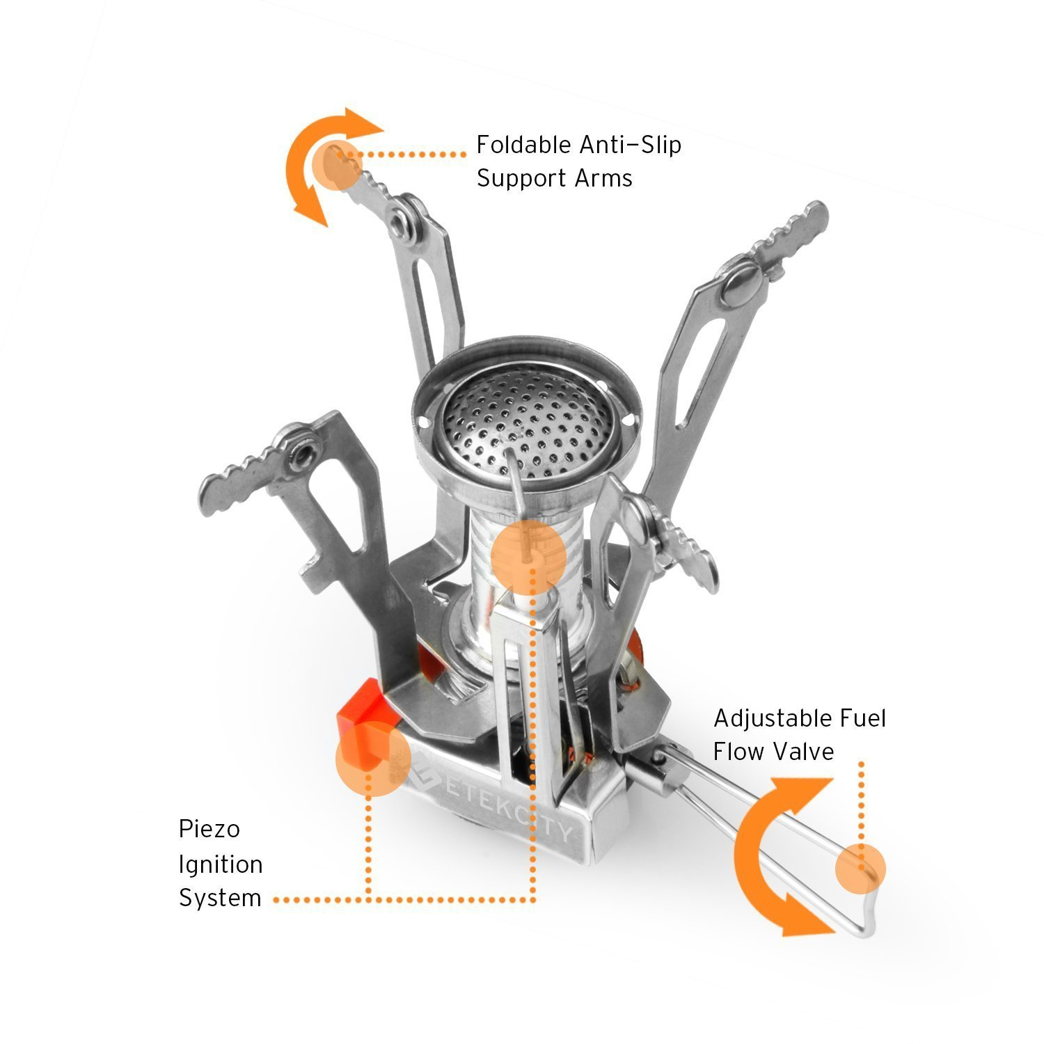 Ultralight Portable Outdoor Backpacking Stove