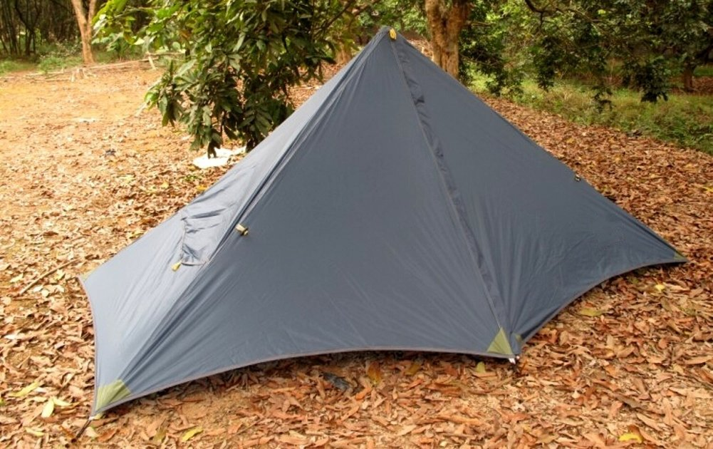 Ultralight Pyramid Backpacking Tent