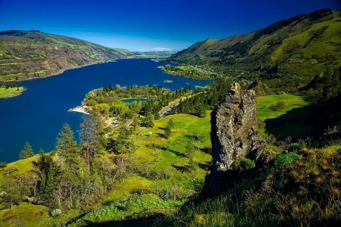 Columbia River Gorge, Washington and Oregon