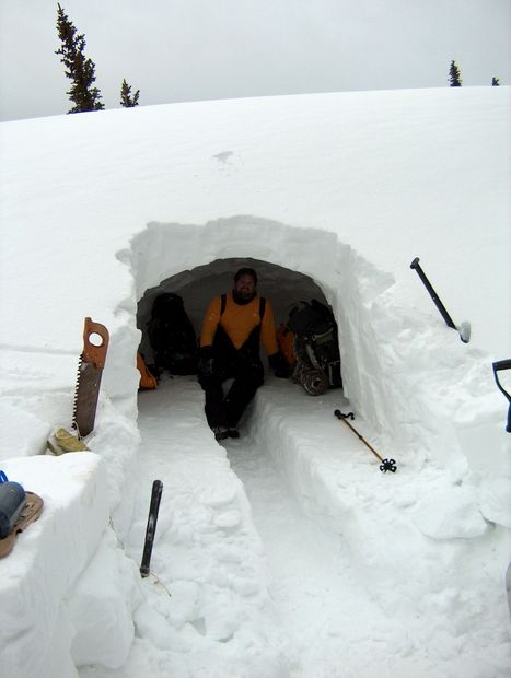 Winter Survival Cave