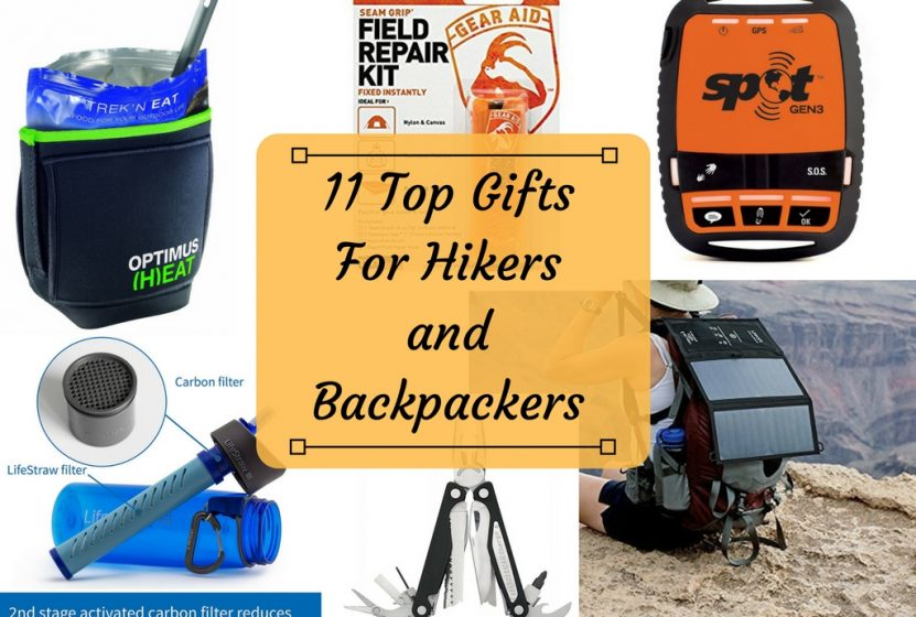 Gifts for Hikers and Backpackers