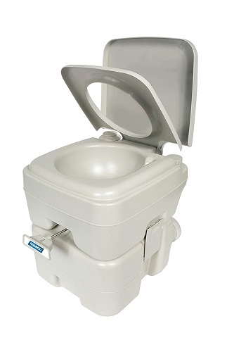 Camco Portable Toilet – 5.3-Gallon