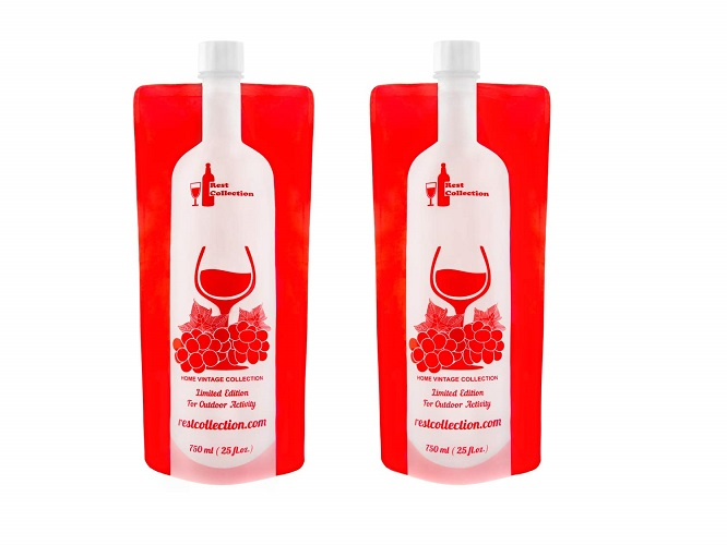 RestCollection Foldable Wine Bottle