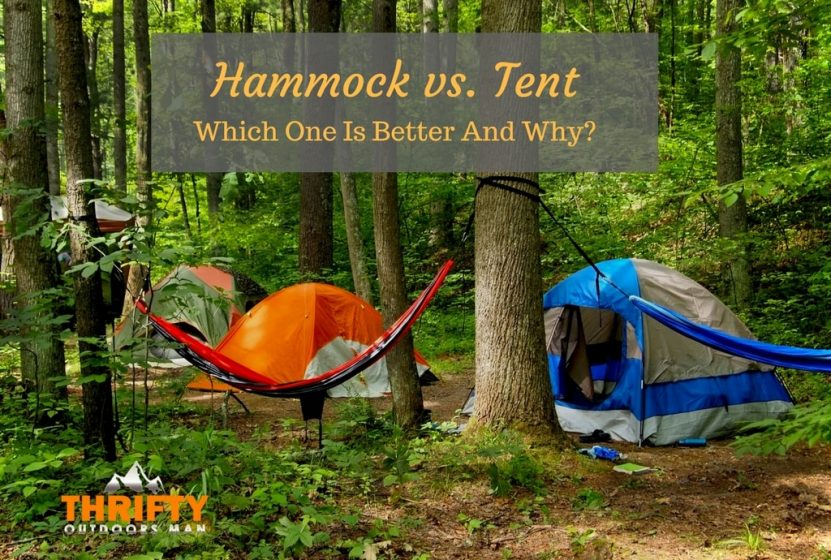Hammock vs Tent & Hammock vs Tent: Which one is better and why? - Thrifty Outdoors ...