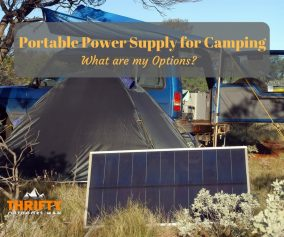 Portable Power Supply for Camping