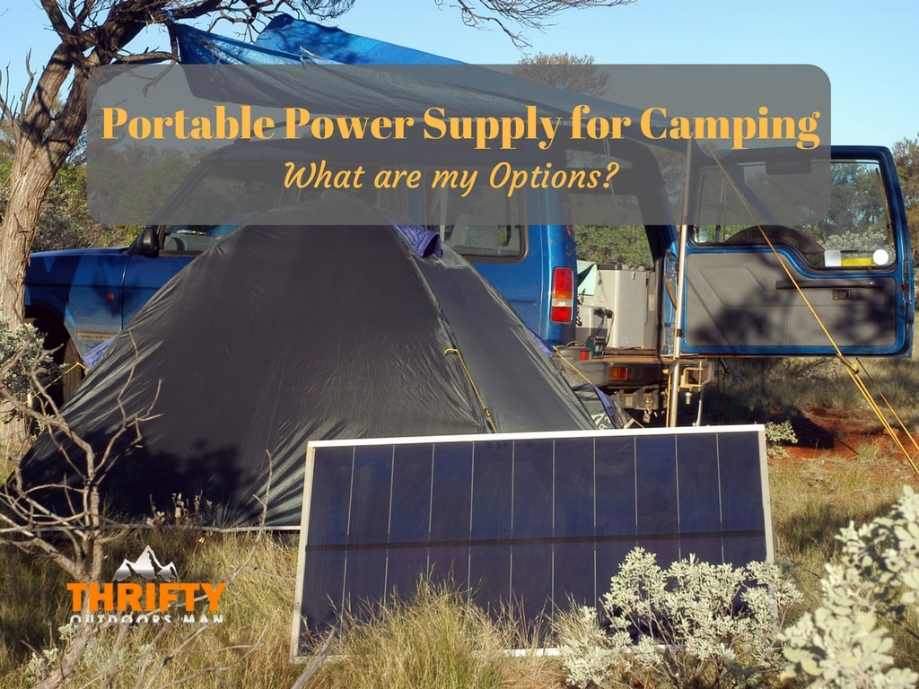 The Best Portable Power Supply for Camping