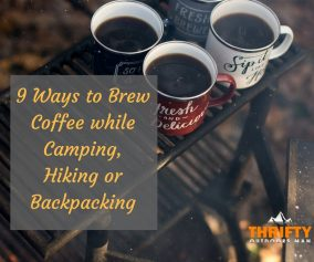 Ways to Brew Coffee While Camping