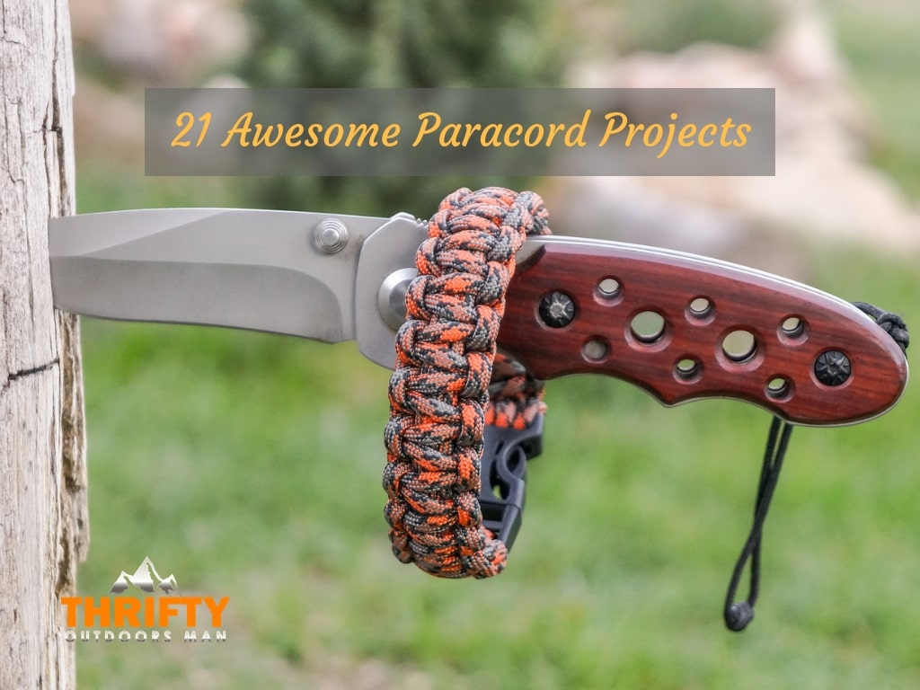 21 Awesome Paracord Projects
