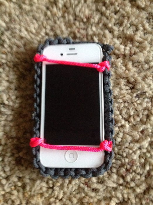 paracord iphone case
